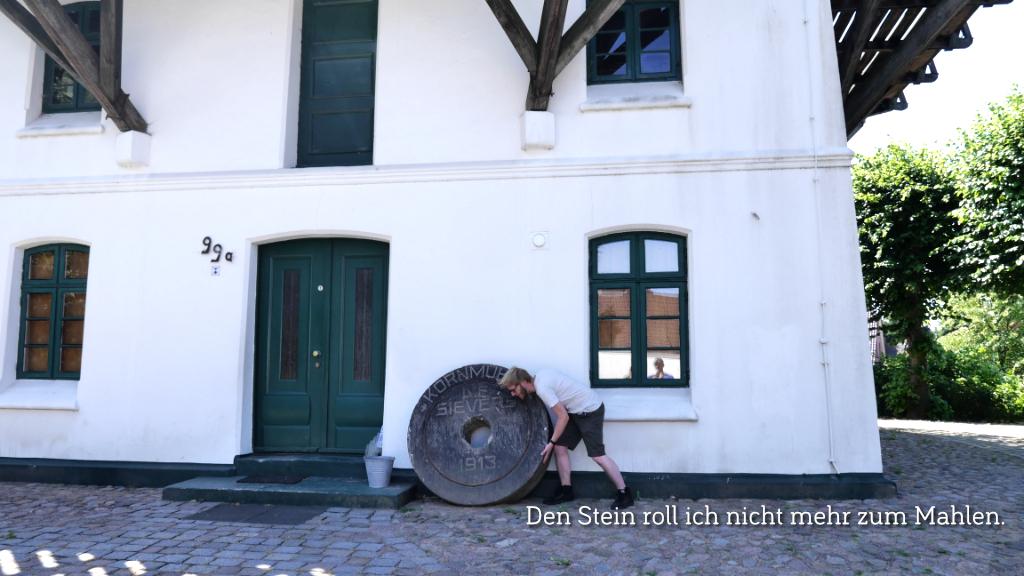 Den Stein roll