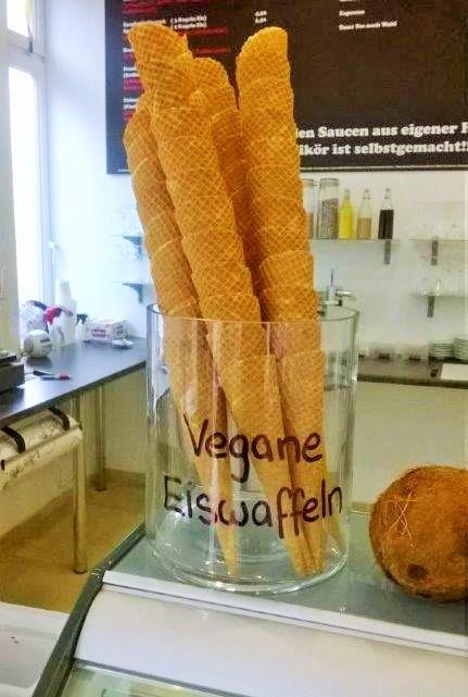 Eis Eck Vegane Waffeln