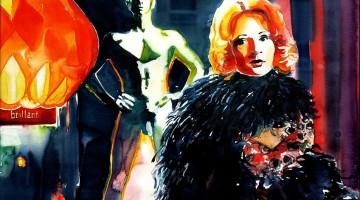 Ingrid Caven in Fassbinders Faustrecht dr Freiheit, 50x70cm