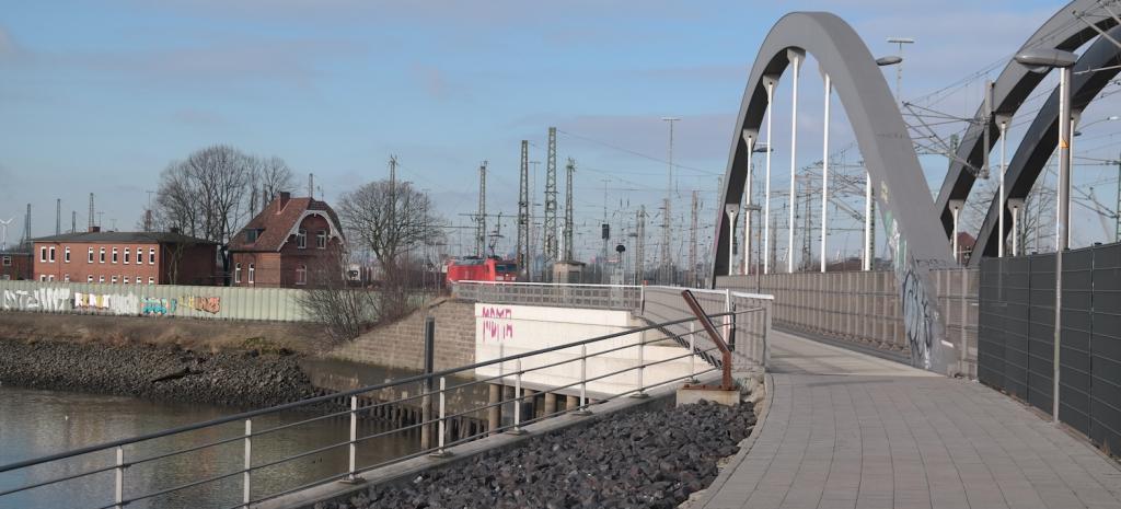 Spreehafen Brücke Veddel